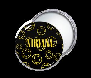 Nirvana Smileys Pocket Mirror