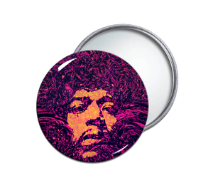 Jimmi Hendrix Pocket Mirror