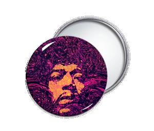 Jimmi Hendrix Pocket Mirror