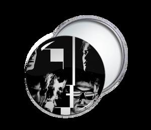 Bauhaus Face Pocket Mirror
