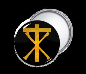 Christian Death - Crucifix Pocket Mirror