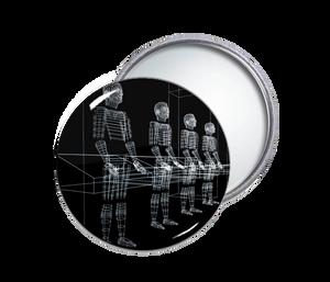 Kraftwerk - Robots Pocket Mirror