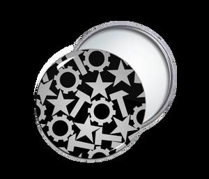 Nitzer Ebb Collage Pocket Mirror