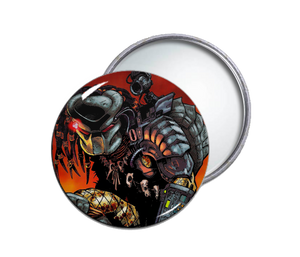 Predator Comic Pocket Mirror