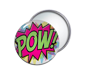 Pow! Pocket Mirror