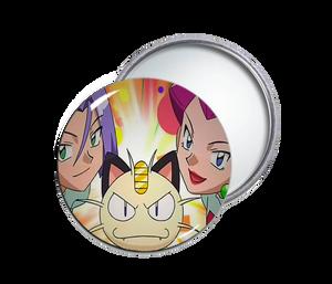 Team Rocket Pocket Mirror