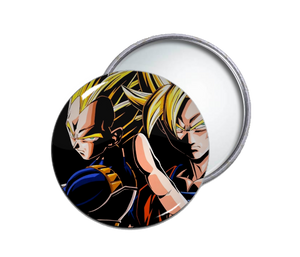 Goku & Vegeta Pocket Mirror