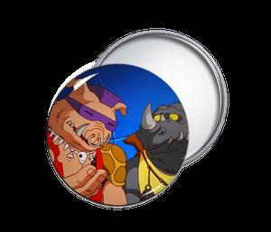 TMNT's Bebop & Rocksteady Pocket Mirror