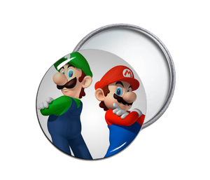 Mario & Luigi Pocket Mirror