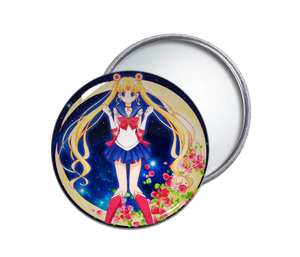 Sailor Moon with  Roses Pocket Mirror
