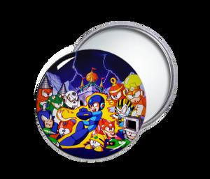 Megaman 4 Pocket Mirror