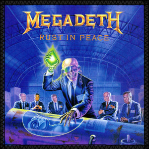 """Megadeth - Rust in Peace 8x8"""" Color Backpatch"""