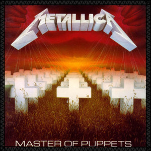 """Metallica - Master of Puppets 8x8"""" Color Backpatch"""