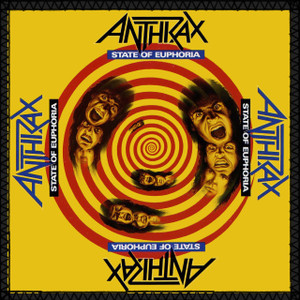 """Anthrax - State of Euphoria 8x8"""" Color Backpatch"""