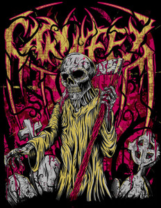 "Carnifex - Reaper 4x4"" Color Patch"