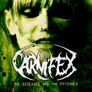 "Carnifex - The Diseased And The Poisoned 4x4"" Color Patch"
