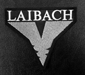 "Laibach - V Logo 2.5x4"" Embroidered Patch"