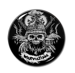 "Warvictims D-Beat Destruction 1.5"" Pin"