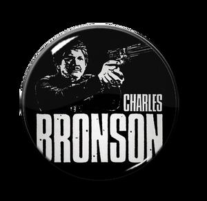 """Charles Bronson 1.5"""" Pin"""