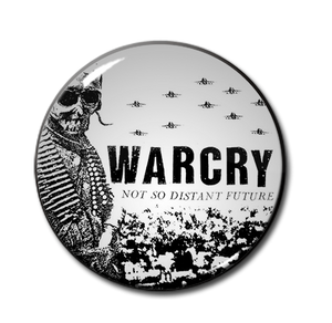 "Warcry - Not So Distant Future 1.5"" Pin"