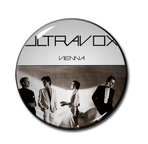 "Ultravox - Vienna 1.5"" Pin"
