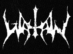 "Watain - Logo 7x4"" Printed Patch"
