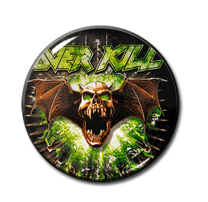 "Overkill- The Years of Decay 1.5"" Pin"