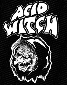 "Acid Witch - Logo 4x6"" Printed Patch"