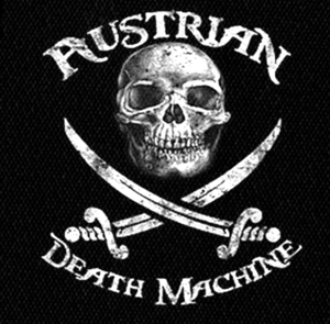 "Austrian Death Machine - Logo 4x5"" Printed Patch"