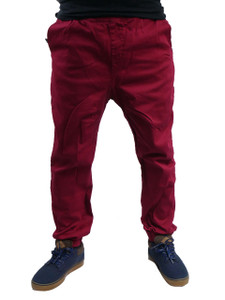 Antifashion - Sporty Skinny Pants with  Adjustable Chord