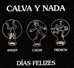 """Calva y Nada - Dias Felizes 5x5"""" Printed Patch"""
