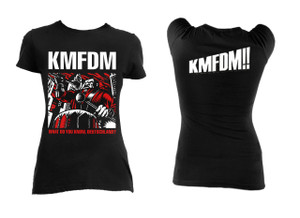 KMFDM - What do you know Deutschland? Blouse T-Shirt