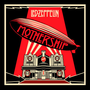 "Led Zeppelin - Mothership 4x4"" Color Patch"