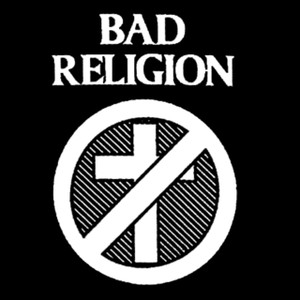 "Bad Religion Logo 5x5"" Printed Sticker"