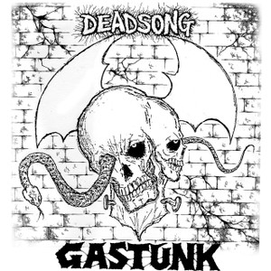 "Gastunk - Dead Song 5x5"" Printed Sticker"
