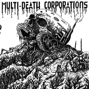 "Multi-Death Corporations 5x5"" Printed Sticker"