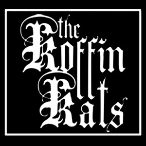 """The Koffin Kats 5x5"""" Printed Sticker"""