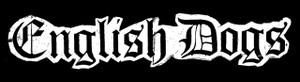 "English Dogs Logo 5.5x1"" Printed Sticker"