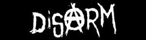 "Disarm Logo 5.5x1"" Printed Sticker"