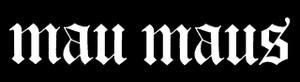 """Mau Maus Logo 5.5x1"""" Printed Sticker"""