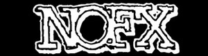 "NoFx Logo 5.5x1"" Printed Sticker"