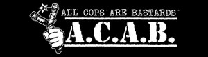 "A.C.A.B. 5.5x1"" Printed Sticker"