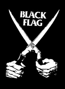 "Black Flag 5.5x4"" Printed Sticker"