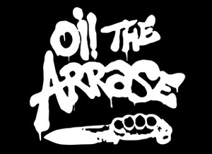 "Oi! The Arrase 5.5x4"" Printed Sticker"