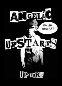 "Angelic Upstarts - Upstart 5.5x4"" Printed Sticker"