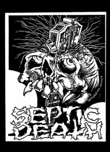 "Septic Death 5.5x4"" Printed Sticker"