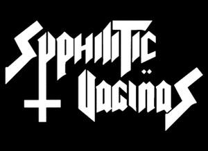 "Syphilitic Vaginas 5.5x4"" Printed Sticker"