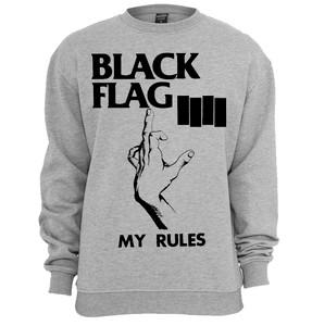 Black Flag - My Rules Crew Neck Sweatshirt