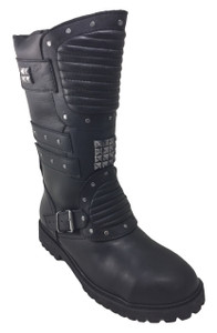 Road Warrior - Wez Warrior 712 Studded Harness Boots