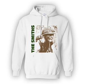 The Smiths - Meat is Murder White Hooded Sweatshirt